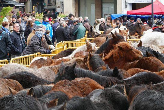 La feria de ganado con  sábado,<br />¿mejor o peor?
