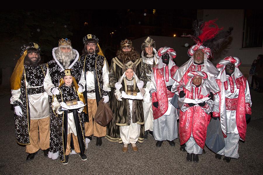 Sonrisas y miradas de ilusión ante la llegada de los Reyes
