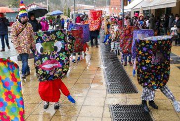 Lizarra Ikastola volvió a compartir  el 'Carnaval  de los Palokis'