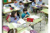 CALLE MAYOR 628 – LOS COLEGIOS DEBATEN EL CAMBIO DE JORNADA
