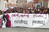 Multitudinaria manifestación del 8 de marzo en Estella