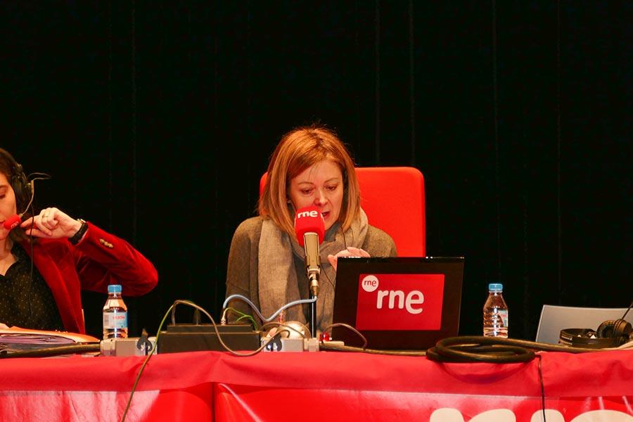 'No es un día cualquiera', de RNE, se emitió desde Estella