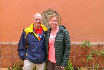 """DE PASO POR ESTELLA – Gregory De Veau e  Yvette De Veau-Hurd  Estados Unidos – """"Mi hermana va a su ritmo, yo al mío, y luego nos juntamos"""""""