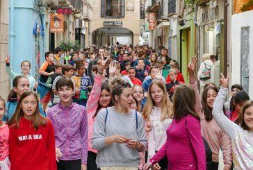 Más de 600 participantes en la marcha saludable de Estella