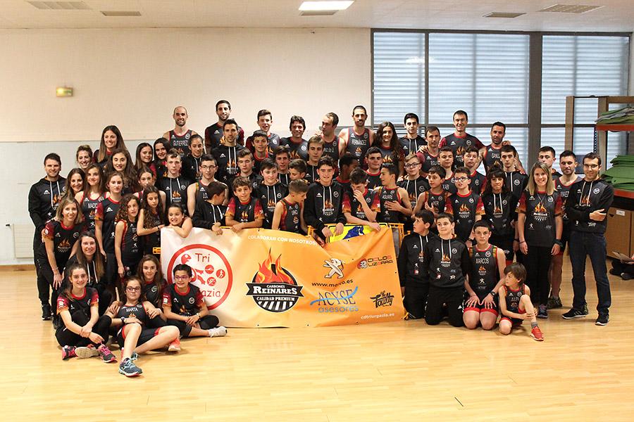 Presentación del club de triatlón Ur-Gazia
