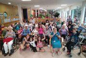 Campamento inter generacional en la residencia de Eulate