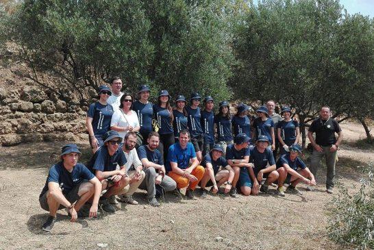 Trabajos de voluntariado en la judería de Estella
