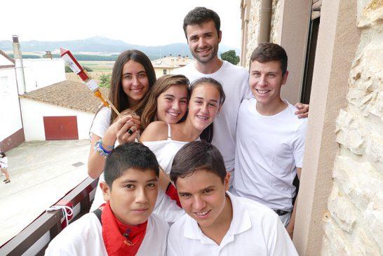 Protagonismo juvenil en las fiestas de Murieta