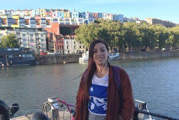 """TIERRA ESTELLA GLOBAL – Kristina Azpilikueta – Bristol (Inglaterra) – """"Aquí la gente es muy abierta de mente y simpática, lo que da libertad para ser tú misma"""""""