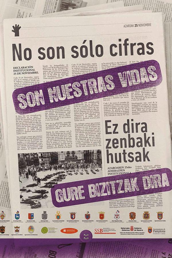 Estella dice NO a la violencia de género