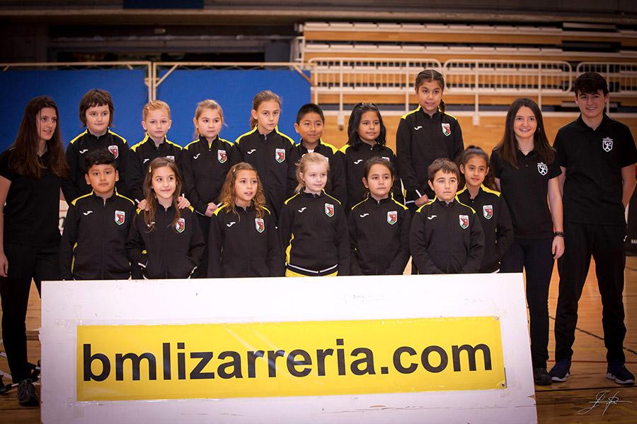 120  jugadores ponen alma al Bm Lizarreria