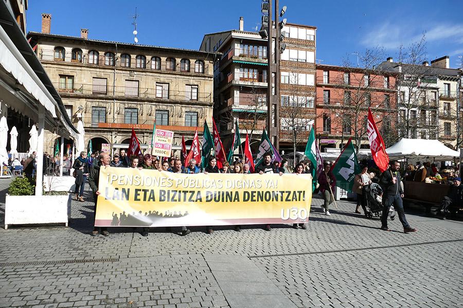 Cientos de personas secundaron la huelga general del 30 de enero