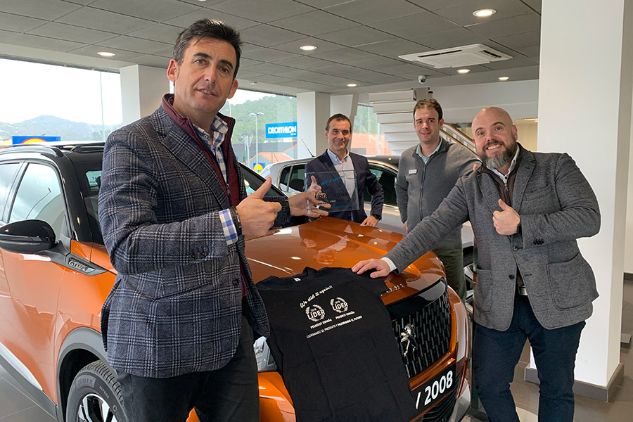 Peugeot Automóviles Marco, líderes de ventas