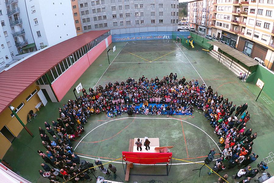 Paz y solidaridad en el colegio Santa Ana