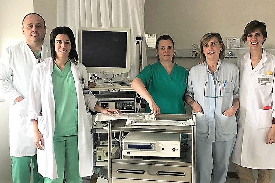 El García Orcoyen implanta la histeroscopia quirúrgica en consulta