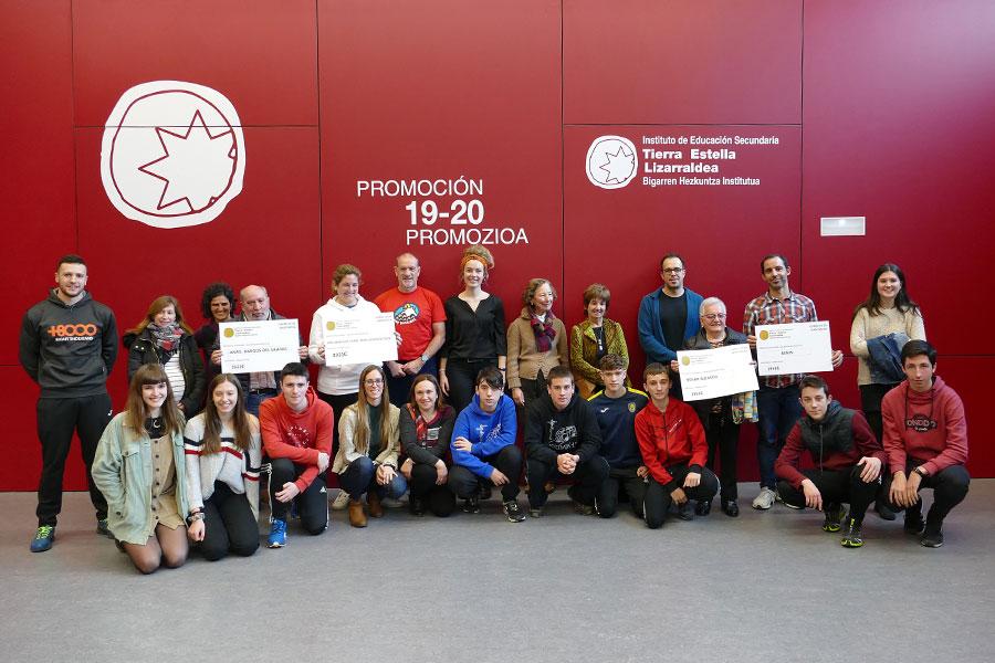 El IES Tierra Estella destina 10.000 € a cuatro proyectos solidarios