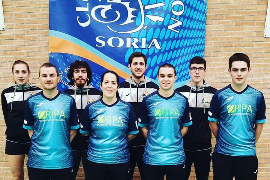 Cuatro medallas en Soria para el CB Estella