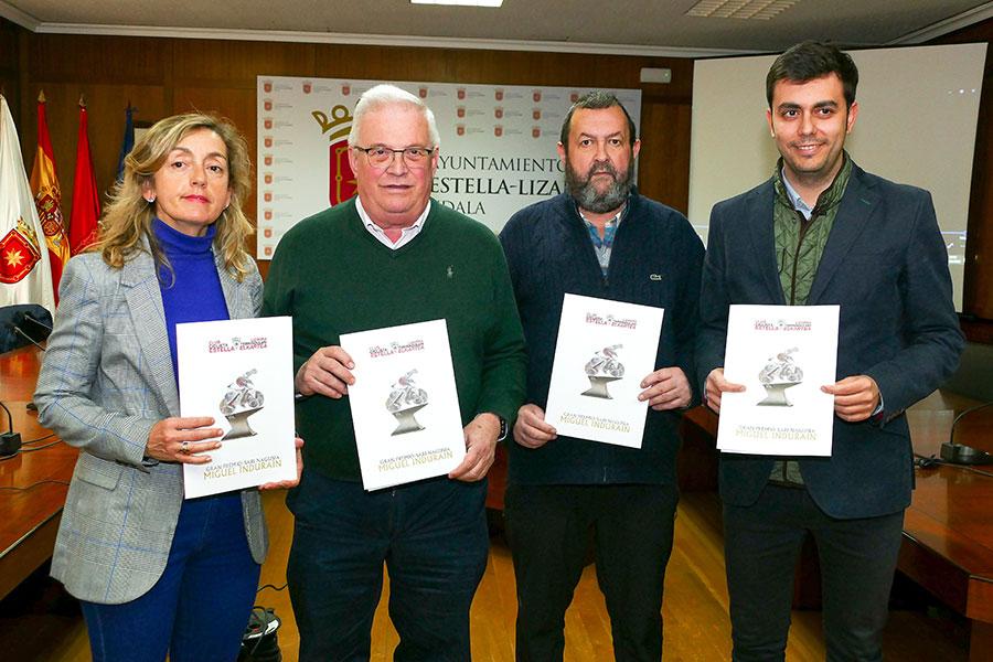 El GP Miguel Induráin regresa a Estella con más categoría