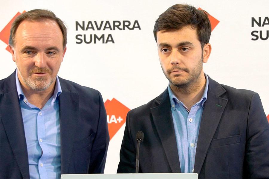 Moción de censura contra Gonzalo Fuentes, alcalde de Estella-Lizarra, de Navarra Suma