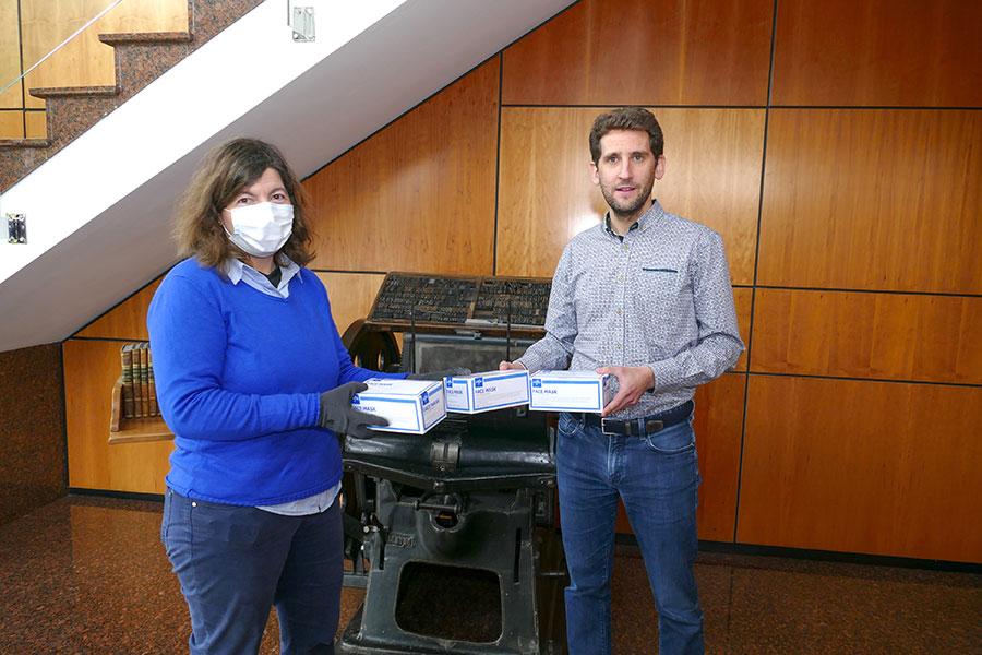 Laseme suministra más de 15.000 mascarillas y material de protección e higiene a las empresas de Tierra Estella