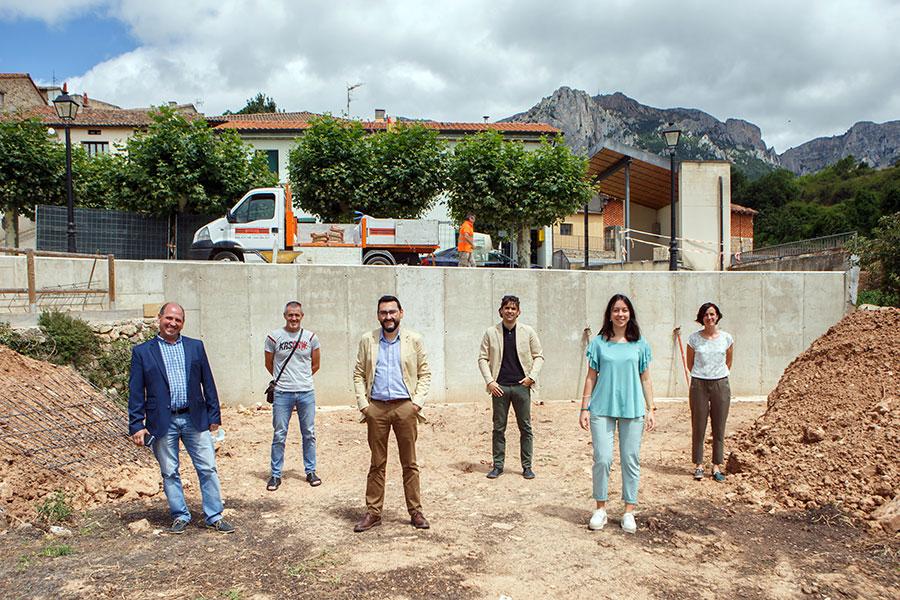 El Gobierno subvencionará la reparación de un muro de contención de Azuelo